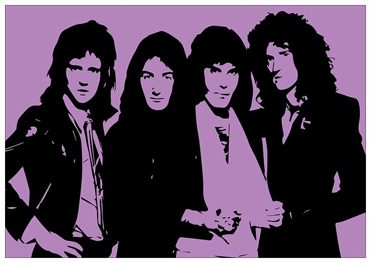 Портретный постер Queen / Queen